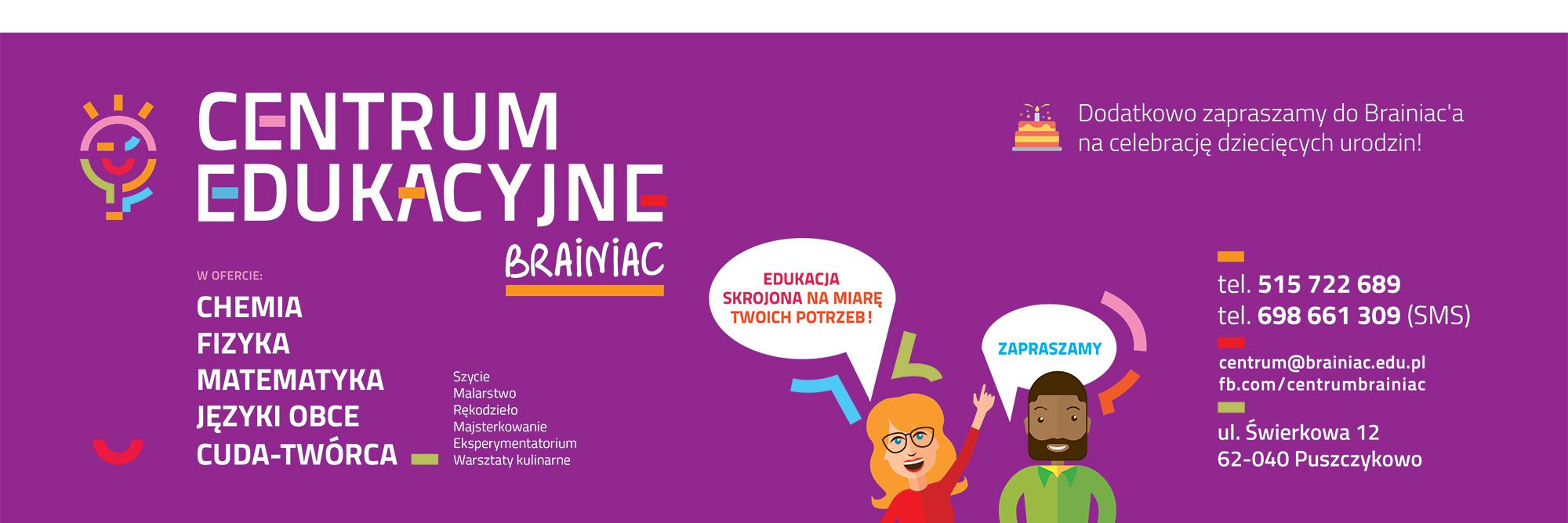 Centrum Edukacyjne Brainiac w Puszczykowie